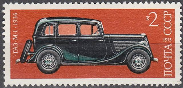 Первому русскому автомобилю – 121 год