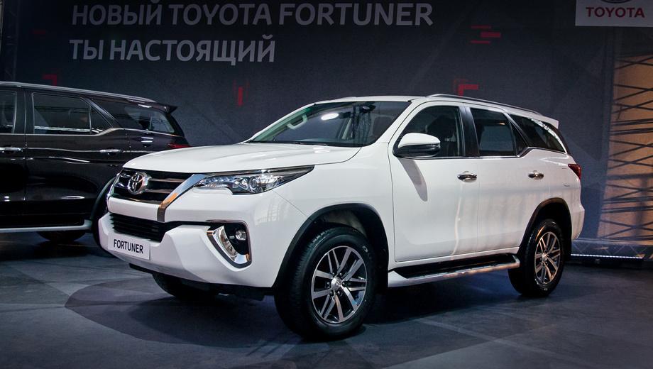 Перешагиваем порог внедорожника Toyota Fortuner для России