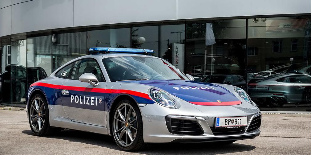 Porsche 911 поступила на службу австрийской полиции