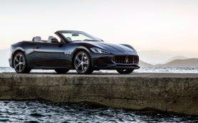 Maserati обновила кабриолет GranCabrio