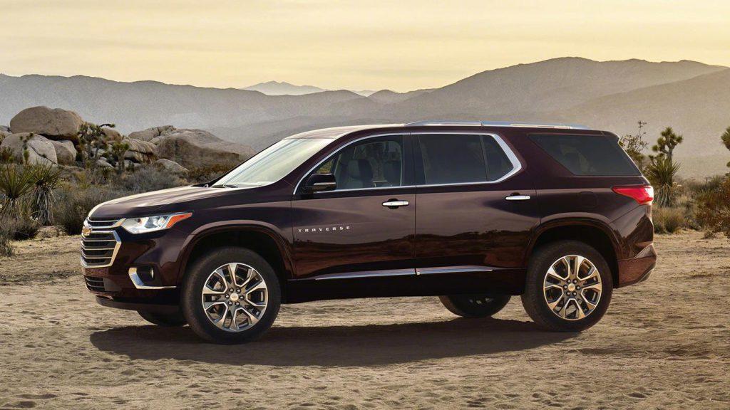 Chevrolet Traverse выходит на заокеанский рынок