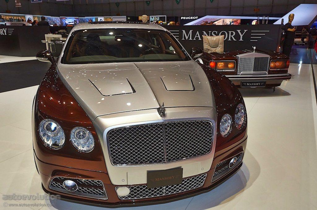 Bentley Mulsanne от Mansory добавил во всех компонентах