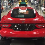 Суперкар Dodge Viper покинул конвейер досрочно