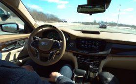 Автопилот войдет в комплектацию флагманского седана Cadillac