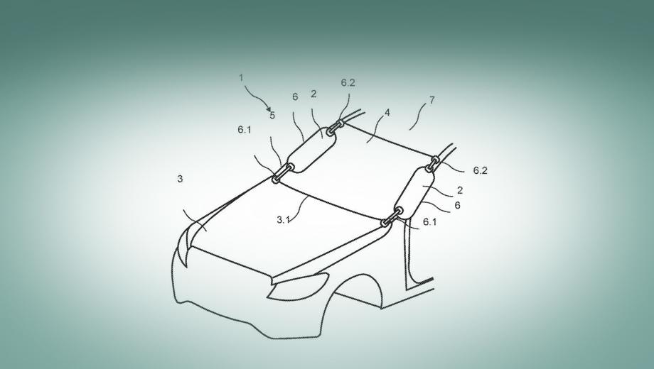 На Мерседесах может появиться новый тип подушки безопасности