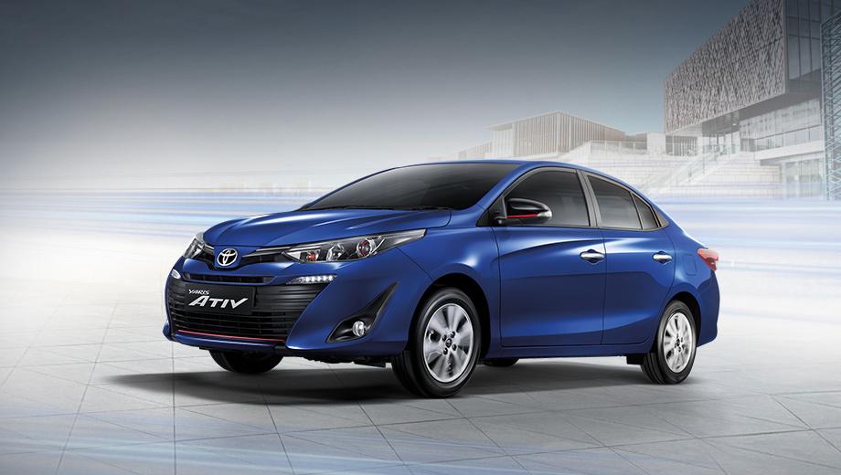 Седан Toyota Yaris Ativ будет продаваться в 70 странах