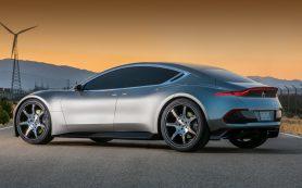 Дебют электромобиля Fisker EMotion перенесён на январь