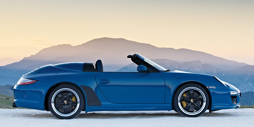 Porsche привезет во Франкфурт Speedster-версию 911