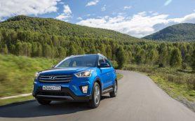 В России доступен кроссовер Hyundai Creta 2018 модельного года