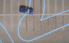 Infiniti Q50 испытали на нарисованной свиньей трассе