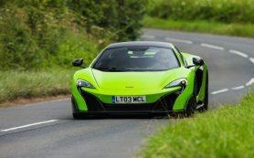 McLaren разработает полностью электрический суперкар