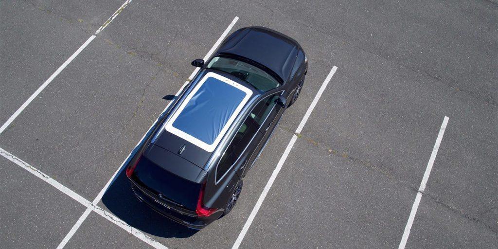 Кроссовер Volvo приспособили для просмотра солнечного затмения