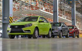 Объём выпуска легковых автомобилей в России в июле увеличился почти на 20%