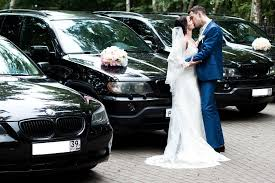 Свадебный кортеж — выбор авто на прокат на свадьбу