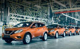 Производство нового кроссовера Nissan Murano стартовало в Питере