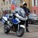 Электромотоциклы для российской полиции