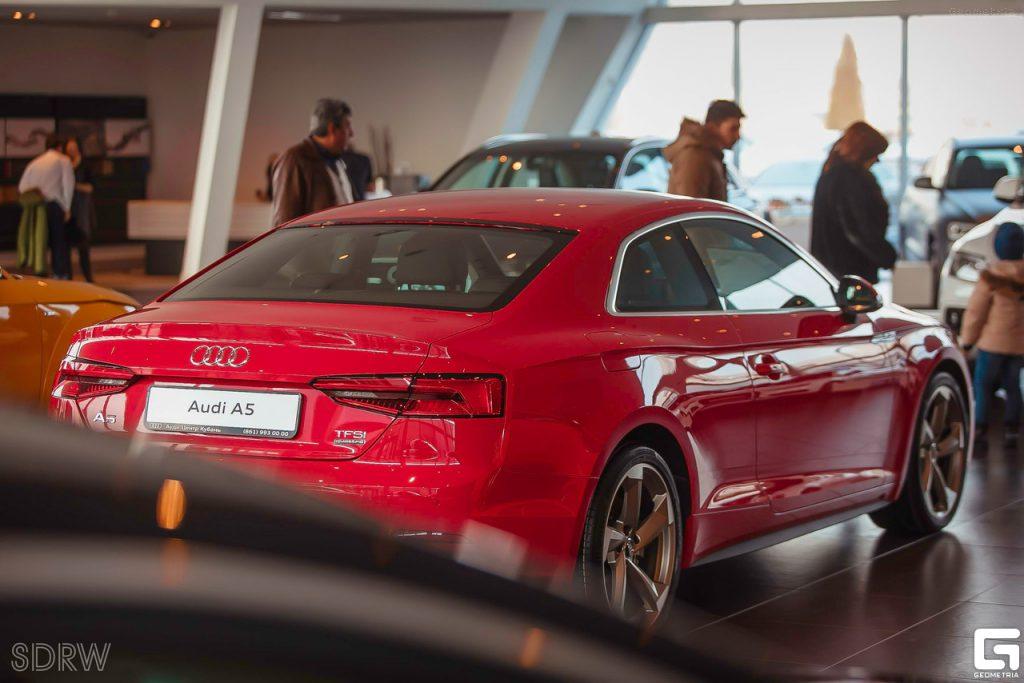 Российская презентация нового Audi A5 Coupe — победитель международного фестиваля AutoVision
