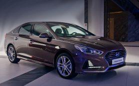 Седан Hyundai Sonata стал в России самым доступным в классе