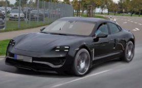 Представлен первый рендер электрокара Porsche Mission Е