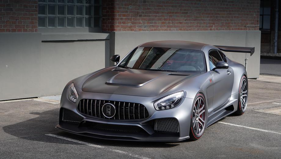 Немецкое ателье IMSA окрылило спорткар Mercedes-AMG GT S