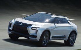 Прототип Mitsubishi e-Evolution предсказал внедорожник будущего