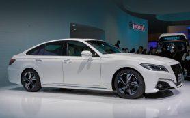 Концепт Toyota Crown предвестил следующий седан