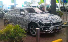 Кроссовер Lamborghini Urus замечен в Европе накануне премьеры