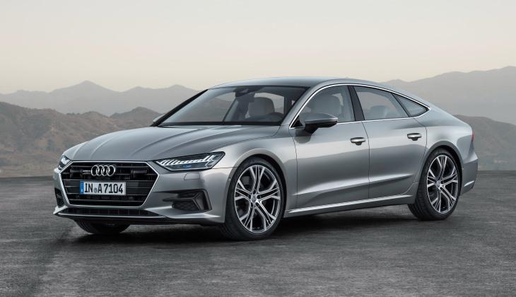 Новое поколение хэтчбека Audi A7 Sportback: сенсоры и световые эффекты