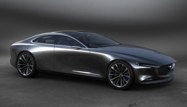 Mazda представила роскошный концепт и прообраз «тройки» следующего поколения