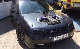 Volkswagen Golf превзошел Bugatti Chiron