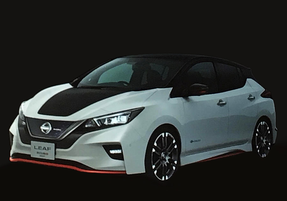 Nissan сделает электрокар Leaf похожим на спорткар