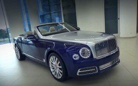 В Дубае обнаружился кабриолет Bentley Grand Convertible