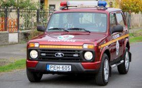 Внедорожники «Нива» поступили на службу в полицию и пожарную охрану Венгрии