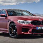 Объявлена стоимость нового седана BMW M5 в России