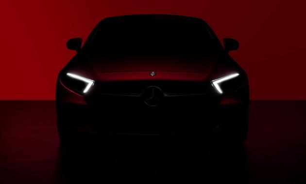 Mercedes-Benz показал тизер CLS 2019 за неделю до премьеры