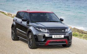 Появились подробности о Range Rover Evoque нового поколения