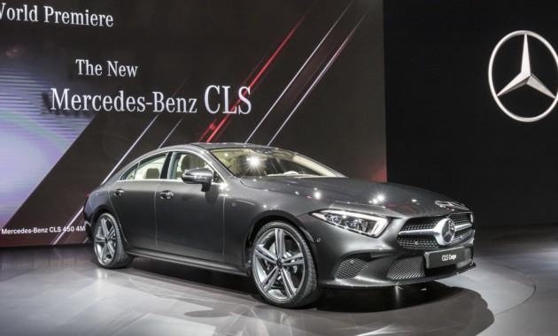 Объявлены цены нового Mercedes-Benz CLS