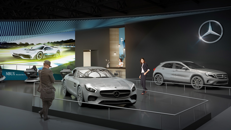 Daimler рассказал об экспонатах на январском шоу CES