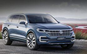 Новый Volkswagen Touareg внешностью напомнил Audi