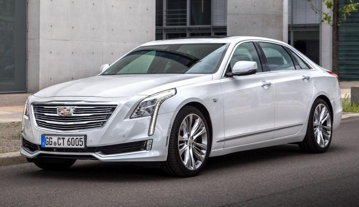 Новый роскошный седан Cadillac вышел на российский рынок
