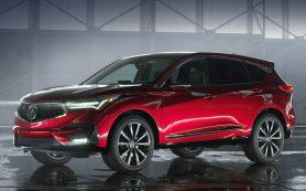 Третье поколение кроссовера Acura RDX увидит свет летом