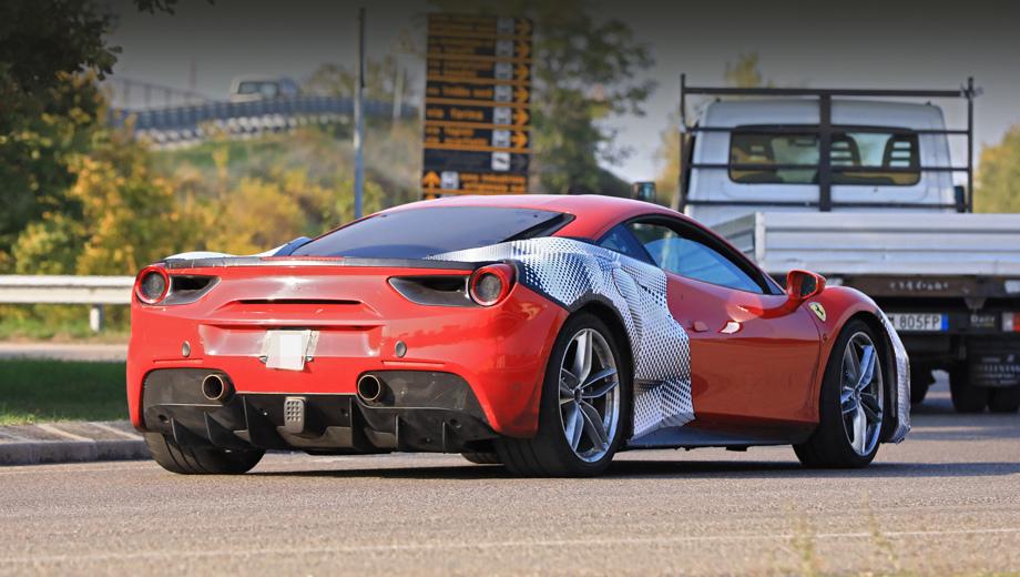 Купе Ferrari 488 GTO раскрылось на дилерской конференции