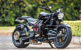 Madboxer: мотоцикл с автомобильным двигателем Subaru