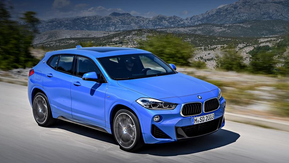 Топ-версия кроссовера BMW X2 получит двухлитровый мотор