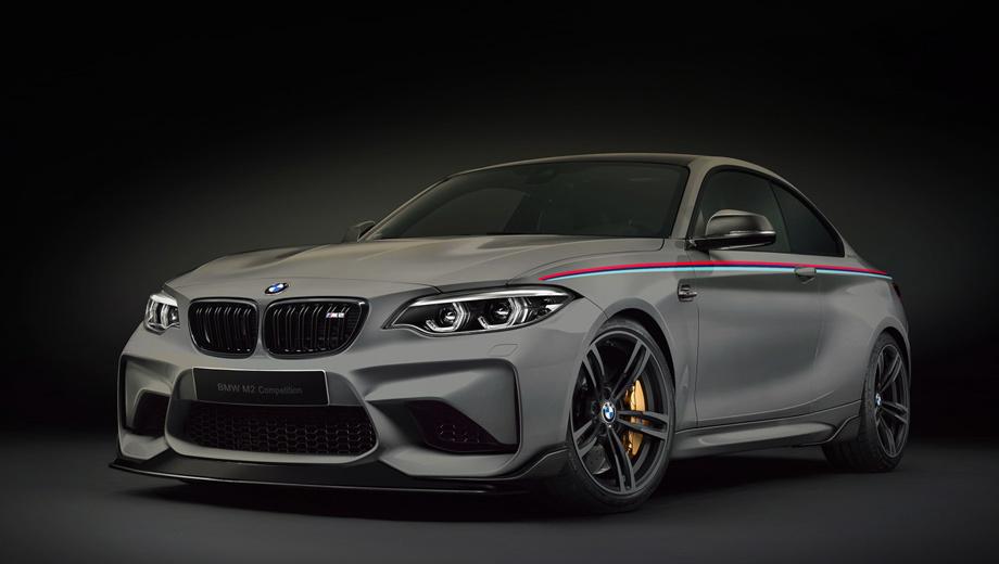 Мощнейшее купе BMW M2 получит приставку Competition