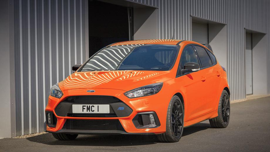 Фирма Ford подготовила прощальный хэтчбек Focus RS