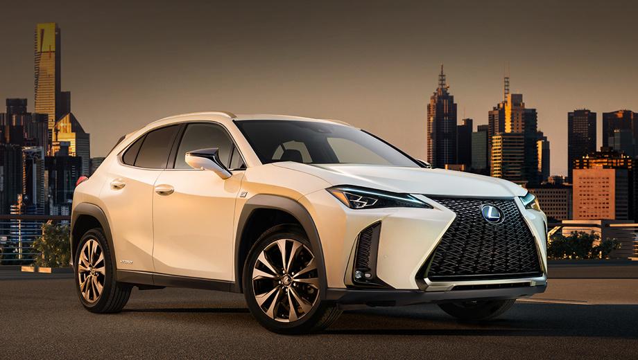 Серийный кроссовер Lexus UX раскроется в Женеве
