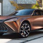 Lexus показал огромный кроссовер LF-1 Limitless