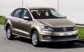 Седан Volkswagen Polo доступен в новой версии Drive