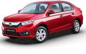 Новый бюджетный седан Honda Amaze дебютировал в Индии